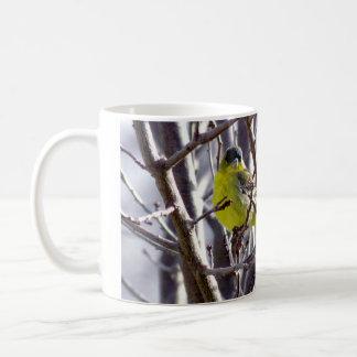 Mug - Yellow Bird in Bare Branches