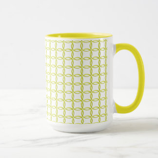 Mug - Yellow Interlocking Rings