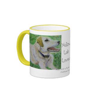 Mug, Yellow Labrador Retriever