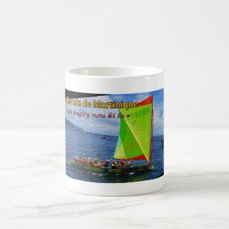 Mug: Yola Redonda de Martinica Taza De Café