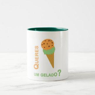 Mug You want an icecream