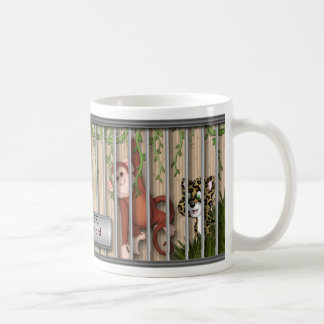 MUG - ZOO ANIMALS - ZOO KEEPER - PERSONALIZE