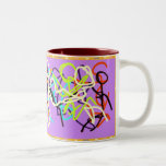 mugdance Two-Tone coffee mug