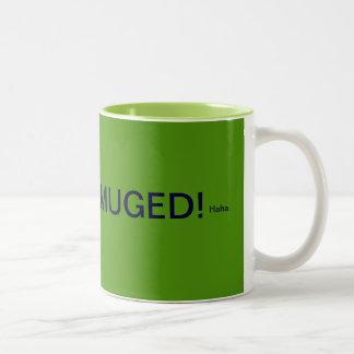 Muged- green Two-Tone coffee mug