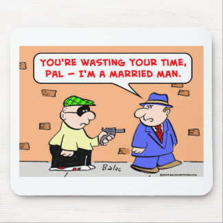 mugger married man mouse pad