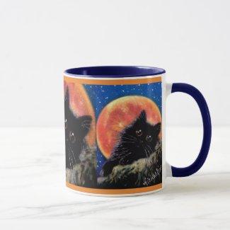 Muggin Moon Scaredy Cat Mug