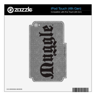 Muggle Decal For iPod Touch 4G