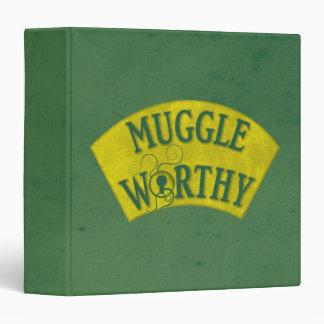 Muggle Worthy 3 Ring Binder