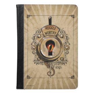 Muggle Worthy Lock With Fantastic Beast Locked In iPad Air Case