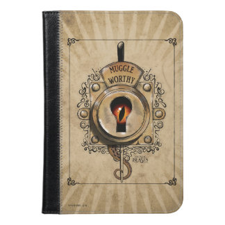 Muggle Worthy Lock With Fantastic Beast Locked In iPad Mini Case