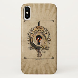 Muggle Worthy Lock With Fantastic Beast Locked In iPhone X Case