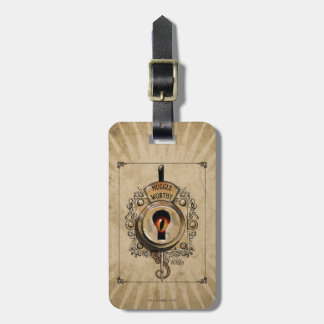 Muggle Worthy Lock With Fantastic Beast Locked In Luggage Tag