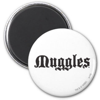 Muggles 2 Inch Round Magnet