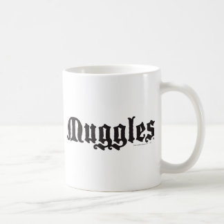 Muggles Classic White Coffee Mug