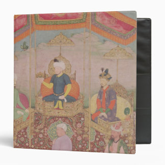 Mughal Emperor Babur and his son, Humayan Binder