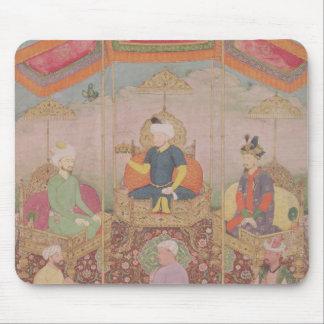 Mughal Emperor Babur and his son, Humayan Mouse Pad