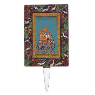 Mughal Indian India Islam Persian Persia Elephant Cake Topper