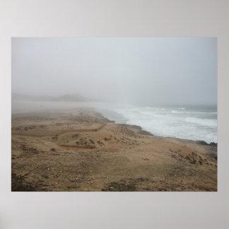 Mughsayl Bay Beach (Oman) Poster