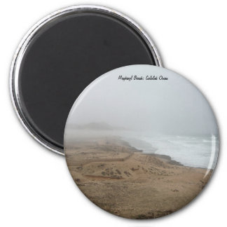 Mughsayl Beach (Salalah Oman) 2 Inch Round Magnet