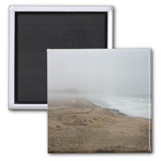 Mughsayl Beach (Salalah Oman) 2 Inch Square Magnet