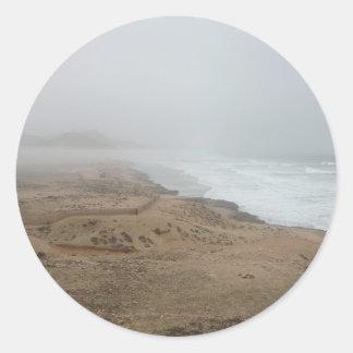 Mughsayl Beach (Salalah Oman) Classic Round Sticker