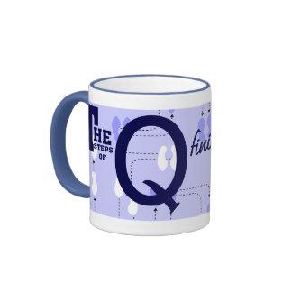 mugOrderedSteps-Q Ringer Coffee Mug