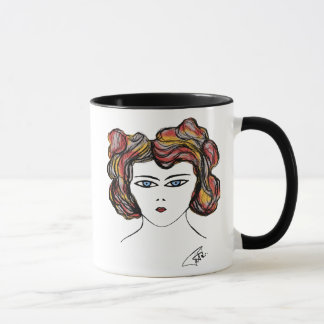 mugportrait woman mug
