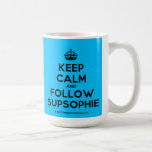 [Crown] keep calm and follow supsophie  Mugs