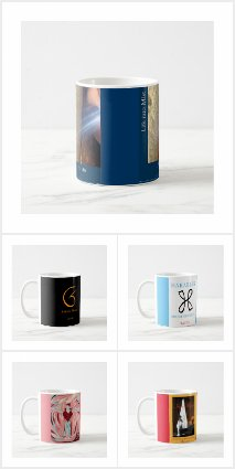 Mugs by Haidji - Book Covers