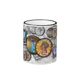 Mugs & Cups - Big Coin Pop Art