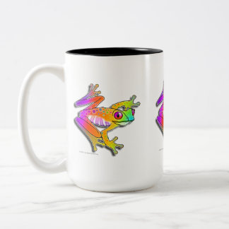 MUGS & CUPS - FROG POP ART