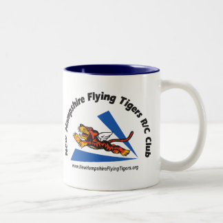 Mugs, glasses and steins w/NH Flying Tigers logo Two-Tone Coffee Mug
