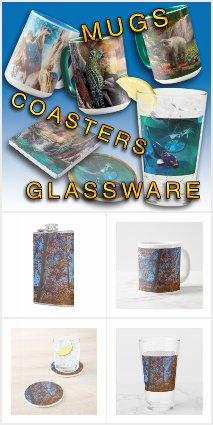 MUGS * GLASSWARE * COASTERS