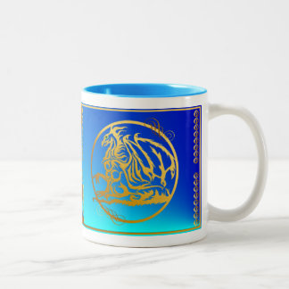 Mugs Gold Dragon 3