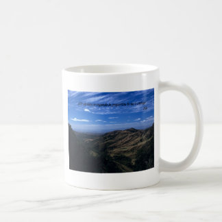 Mugs: Life shrinks or expands in proportion to one