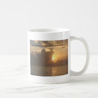 Mugs: Live as if you were to die tomorrow. Learn a Classic White Coffee Mug