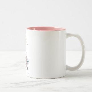 Mugs,  Pink Giraffe