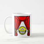 Theater smile stage curtains open  mugs_travel_mugs_and_steins