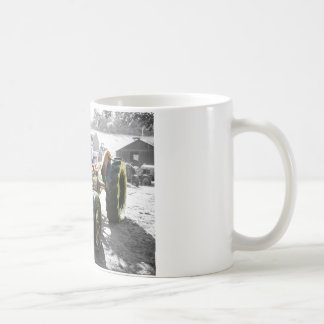 Mugs with Old Vintage Tractor farm machinery