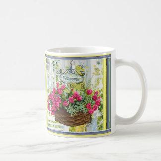 "Mugs with ""Welcome Home"" painting Choose your mug!"