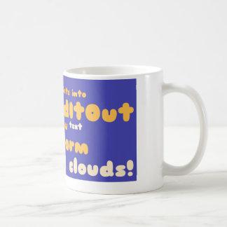 Mugs: wrapped around layout classic white coffee mug