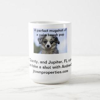 Mugshot of Andrew Saporito's Hot Palm Beach Pup Coffee Mug