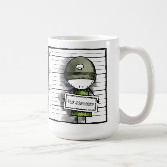 Mugshot: the scribbler coffee mug