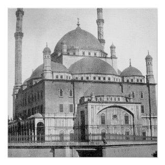 Muhammad Ali Mosque in Cairo, ca. 1890 Poster