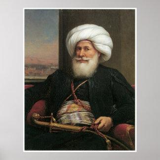 Muhammad Ali Viceroy of Egypt, 1840 Poster