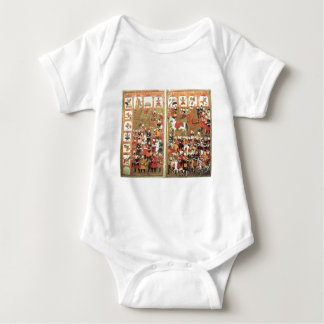 Muhammad Destroying Icons in the Kaaba Baby Bodysuit
