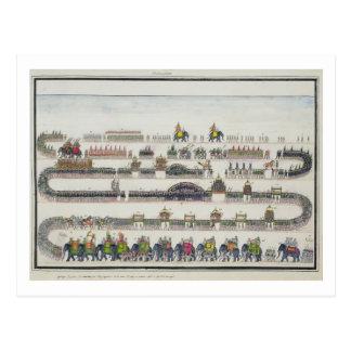 Muharram Ceremony, Faizabad, 1772 from 'The Gentil Postcard