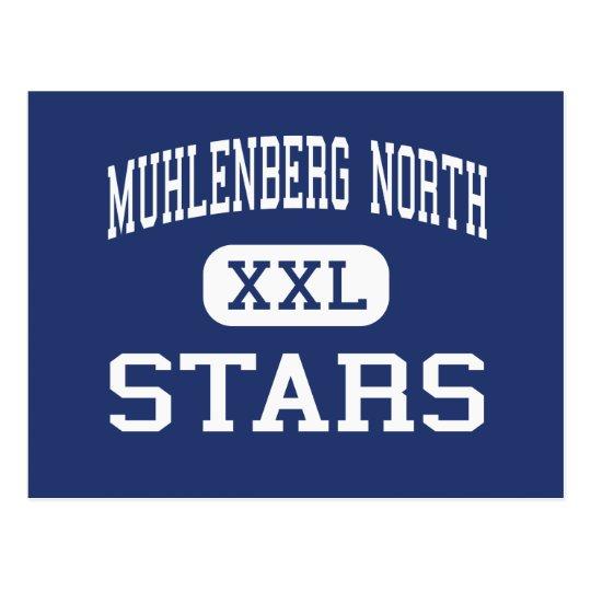 Muhlenberg North - Stars - High - Greenville Postcard