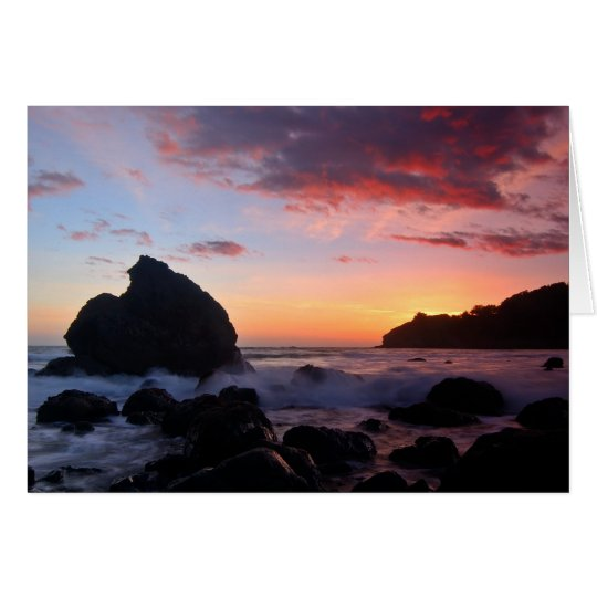 Muir Beach Sunset Card
