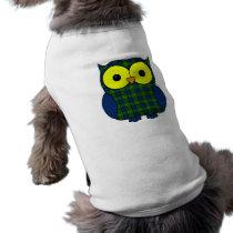 Muir Tartan Plaid Owl Tee